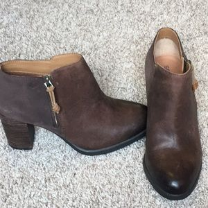 Sperry Ankle Booties -like new